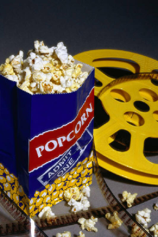 Movie Popcorn Bag