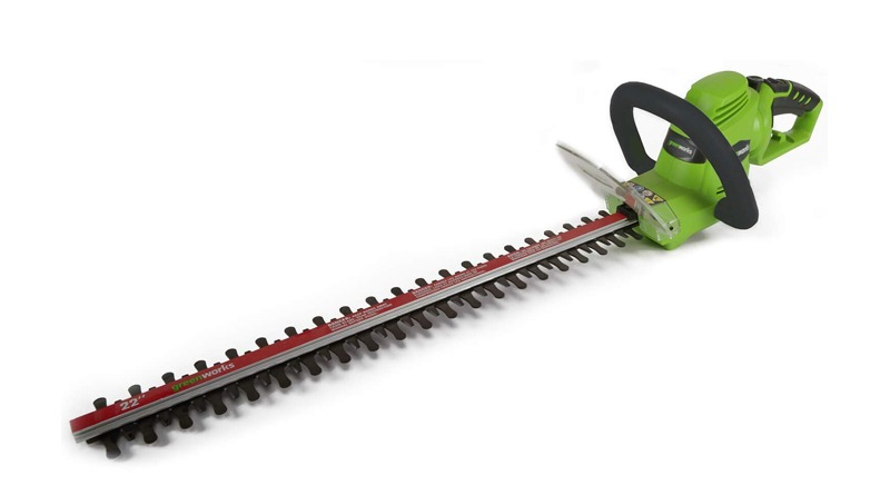 Greenworks 22122 Electric Corded Hedge Trimmer Review