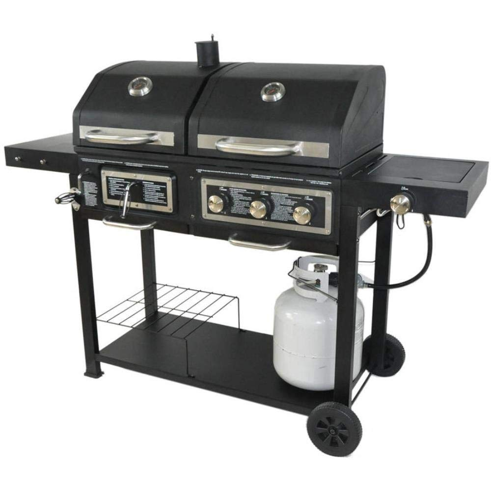 This Is An Entry Level Charcoal Gas Grill Combination Priced Very Affordably It Still Has Many Of The Same Ing Points As More Expensive Models