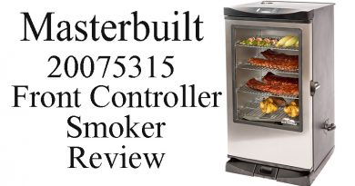 Masterbuilt 20075315 Front Controller Smoker Review