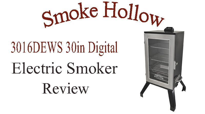 Smoke Hollow 3016DEWS 30-Inch Digital Electric Smoker