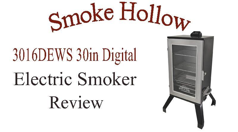 Smoke Hollow 3016DEWS 30-Inch Digital Electric Smoker