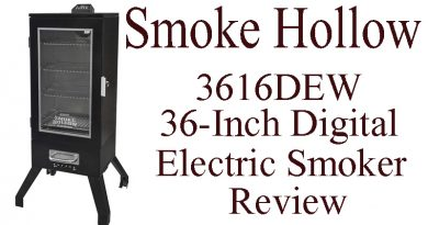 Smoke Hollow 3616DEW 36-Inch Digital Electric Smoker Review