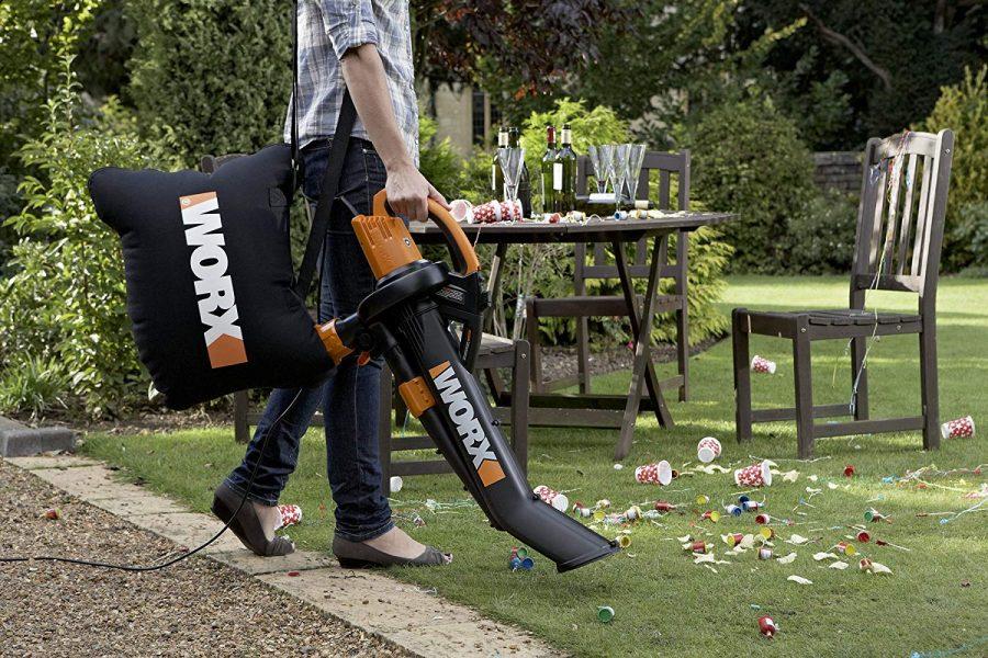 12 Worx Electric Blower-Mulcher-Vacuum