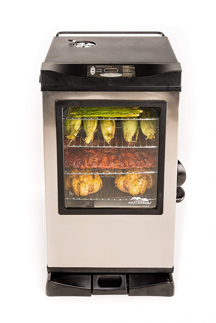 18 Masterbuilt Electric Smoker with Window and RF Controller