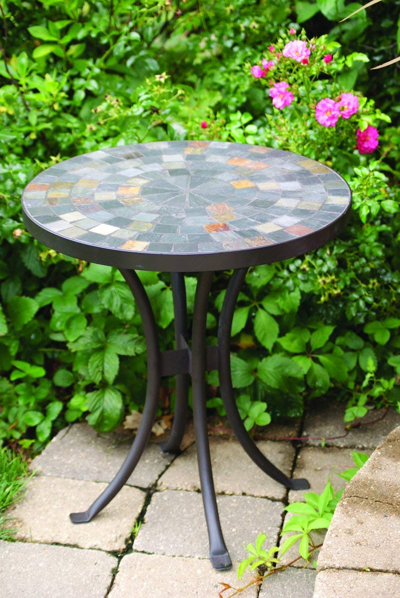 27 Outdoor Mosaic Side Table
