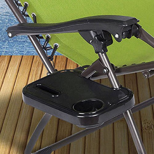 32 Just Relax Gravity Chair Clip-on Table and Cup Holder