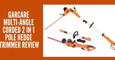 GARCARE Multi-Angle Corded 2 in 1 Pole Hedge Trimmer Review