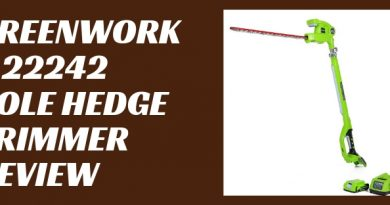 GreenWorks 22242 Pole Hedge Trimmer Review