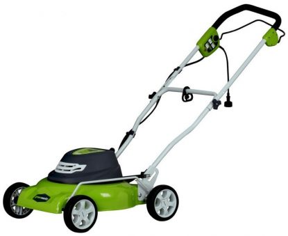 Greenworks 18-Inch 12 Amp Corded Lawn Mower 25012 1